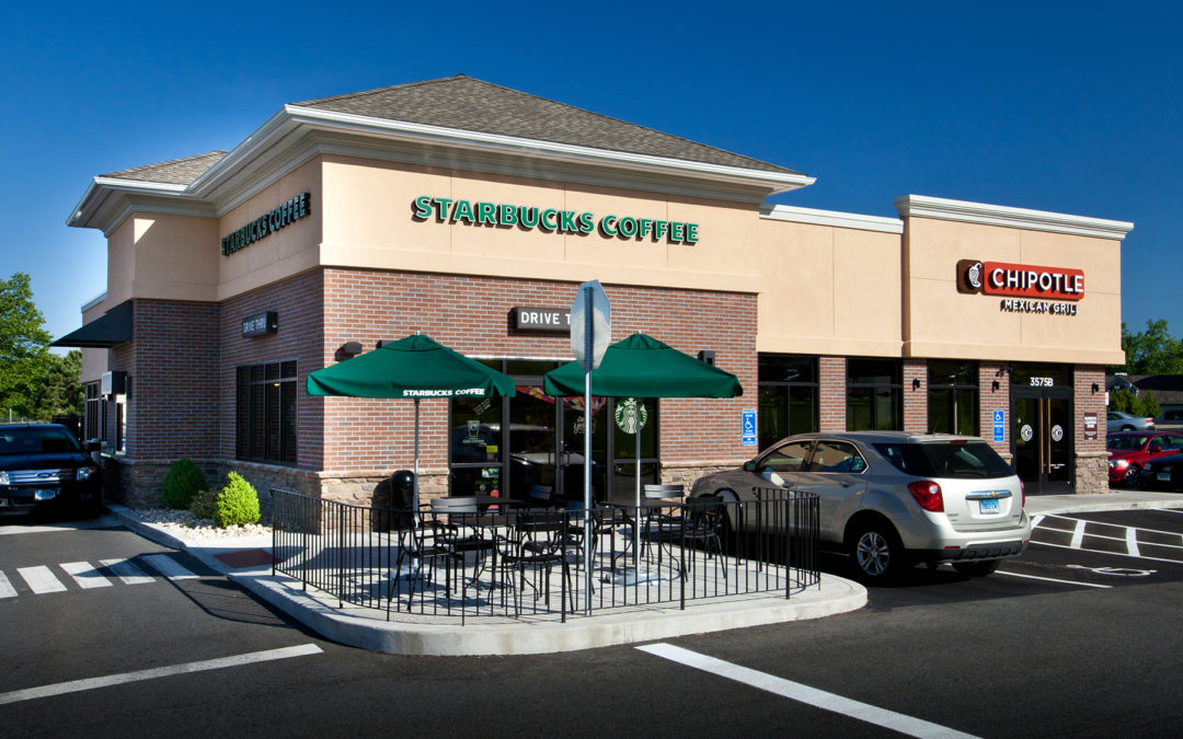 Starbucks Coffee & Chipotle Mexican Grill