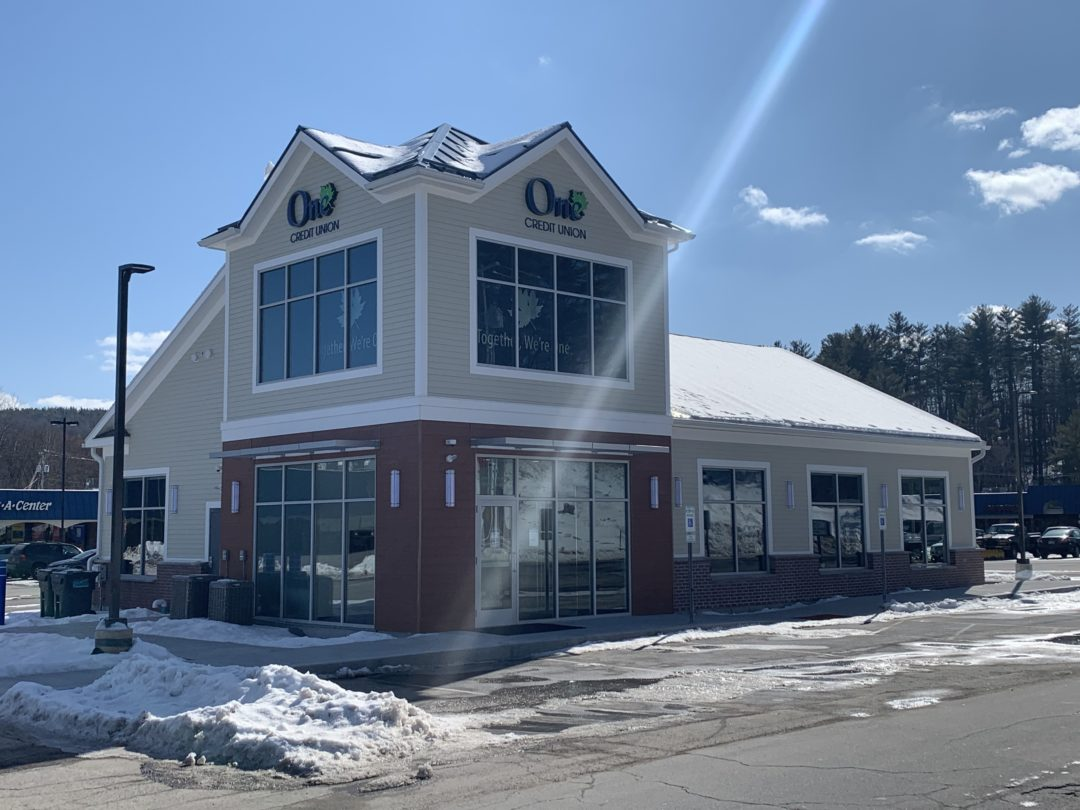 One Credit Union  – New Construction